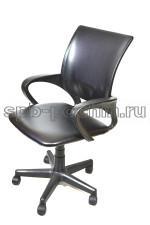 Эргономичное черное компьютерное кресло КР-3