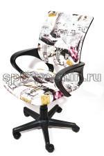 Эргономичное компьютерное кресло КР-3 принт