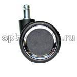 Ролики полиуретановые  805-2 хром (5 шт.)