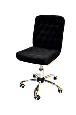 Кресло компьютерное КР-9 мини  велюр в комплектации «Хром»