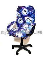 Мягкое удобное компьютерное кресло КР-29 «Космопузики»