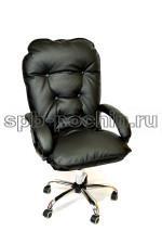 Мягкое удобное компьютерное кресло КР-28 хром