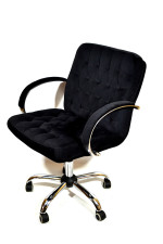 Кресло руководителя КР-9 макси велюр в комплектации «Хром»