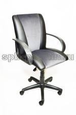 Кресло компьютерное КР-11 черно-серое