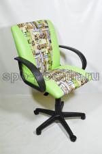 Кресло компьютерное КР-11 фисташка