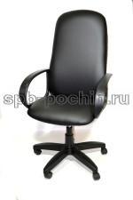 Кресло компьютерное КР-5 с высокой спинкой, черное