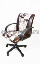 Кресло компьютерное КР-11коричневое