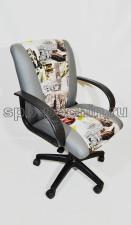 Кресло компьютерное КР-11серое