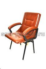 Кресло компьютерное КР-7 мини лайт ИЗО коричневое