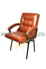Кресло компьютерное КР-7 мини ИЗО коричневое
