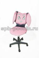 Малогабаритное кресло КР-12.2 розовое.