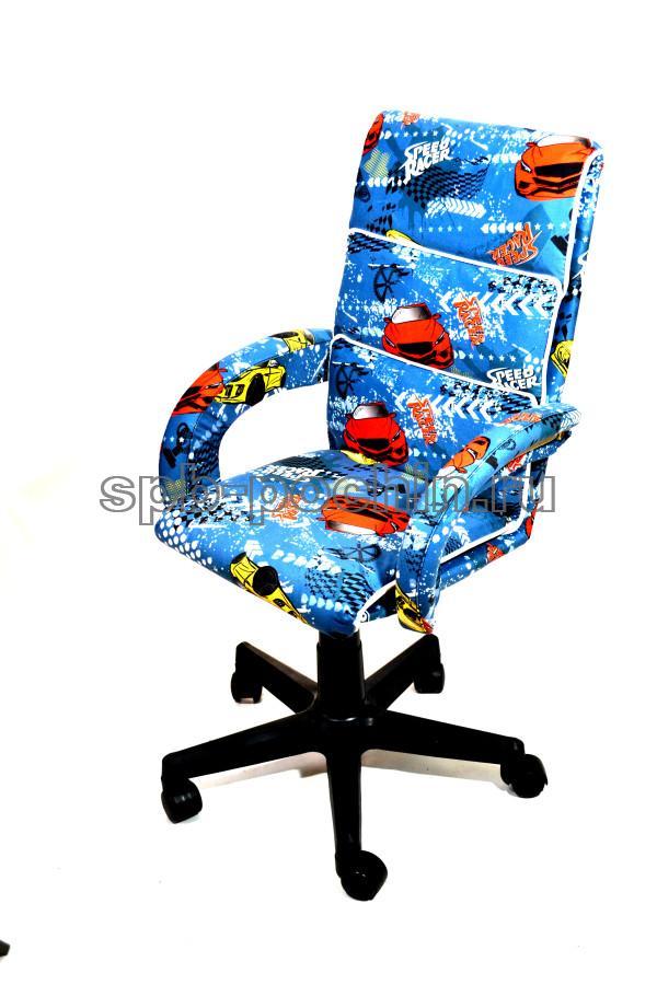 Кресло компьютерное малогабаритное КР-16д ткань