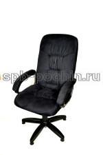 Стильное компьютерное кресло КР-13 (2610) черное ткань.