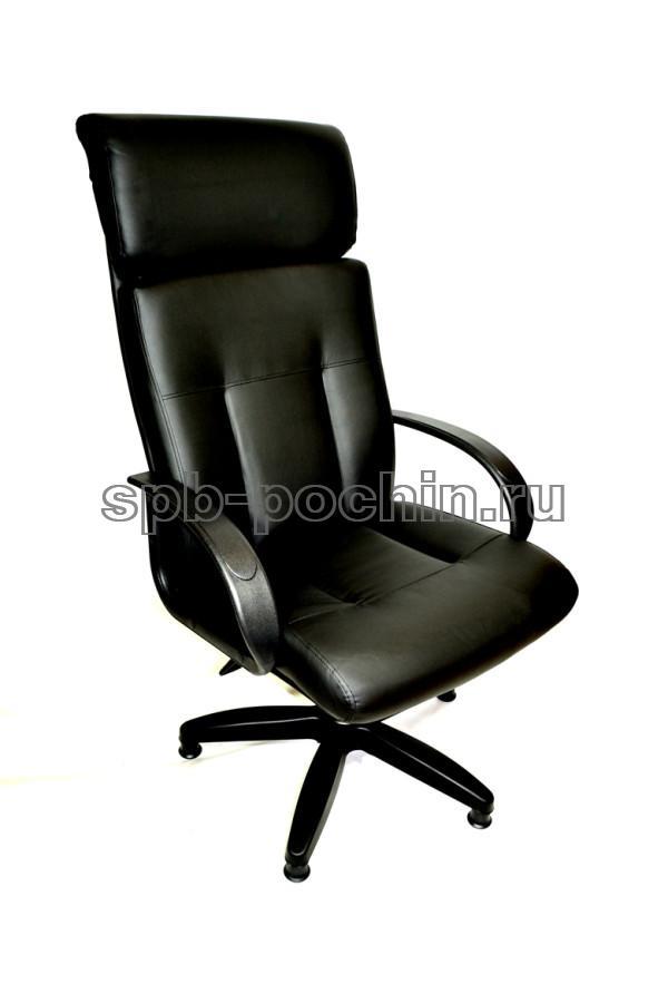 Кресло руководителя КР-17 с высокой спинкой черное
