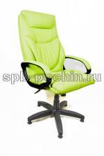 Офисное кресло руководителя КР-25 (2610) фисташка