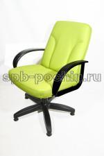Мягкое, удобное компьютерное кресло КР-10 лайт цвет фисташка