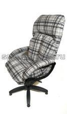Компьютерное кресло КР-27 бурбон (флок)