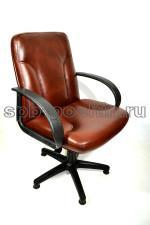 Мягкое, удобное компьютерное кресло КР-10 лайт черри