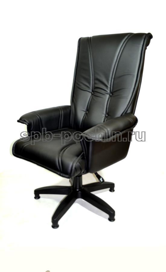 Кресло руководителя КР-1 Люкс черное