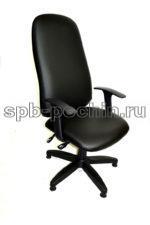 Кресло с откидывающейся спинкой  КР-5 Люкс (экокожа)