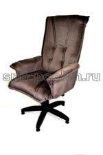 Кресло руководителя  КР-1 Люкс коричневое