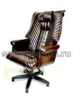 Кресло руководителя  КР-31 Люкс коричневое