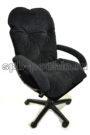 мягкое удобное компьютерное кресло КР-29 черное