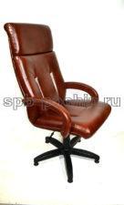 Стильное кресло руководителя КР-17  черри