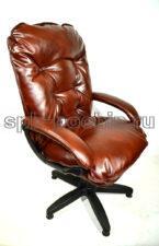 Мягкое удобное компьютерное кресло КР-28 черри