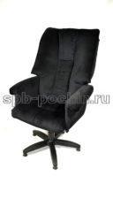 Кресло руководителя  КР-31 черное ткань