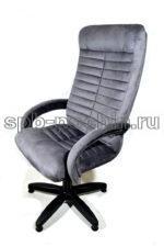 Кресло компьютерное КР-14н У с высокой спинкой, ткань.