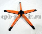 Крестовина с оранжевыми накладками 700 мм