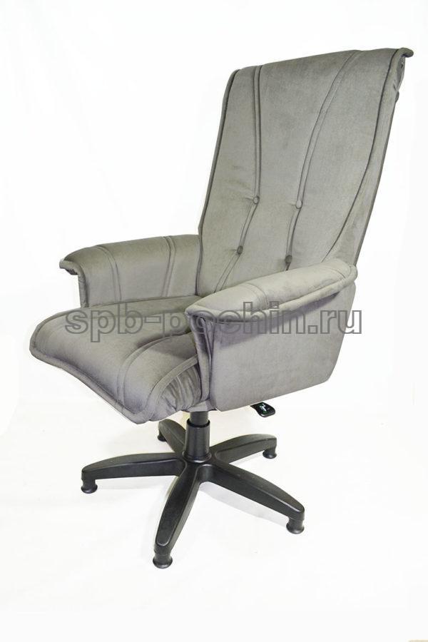 Кресло руководителя КР-1 Люкс серое