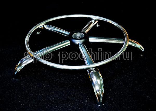 Крестовина с хромированным кольцом 640