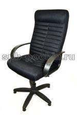Черное компьютерное кресло КР-14 ткань