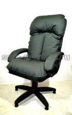 Компьютерное кресло т.серое КР-27 тканевое